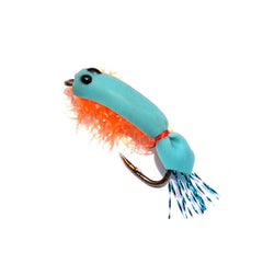 36Pcs Fly fishing Hooks Shrimp Colorful Feather Bait - 2CM