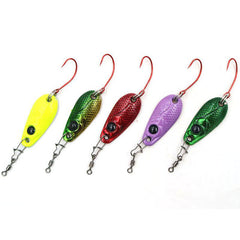 Mini Trout Spoon Fishing Lures