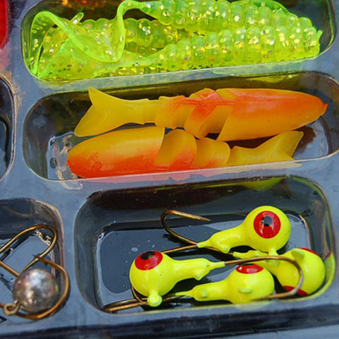 Mixed Artificial  Fishing Lure Hook Set