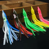 Image of Mixed Color Soft Octopus Fishing Lures For Jigs