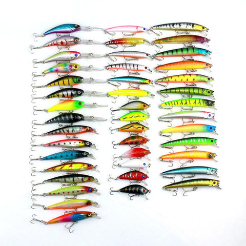 Mixed Crankbait Fishing Lure Set