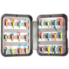 Image of Multi Color Plastic Feather Box Flying Fishing Bait