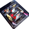 Image of Saltwater Tackle Hooks Bright Colors Fishing Lures Kit