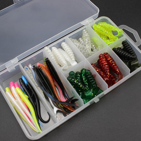 Soft Bait Tackle Wobbler Jigging Fishing Lure Bundle
