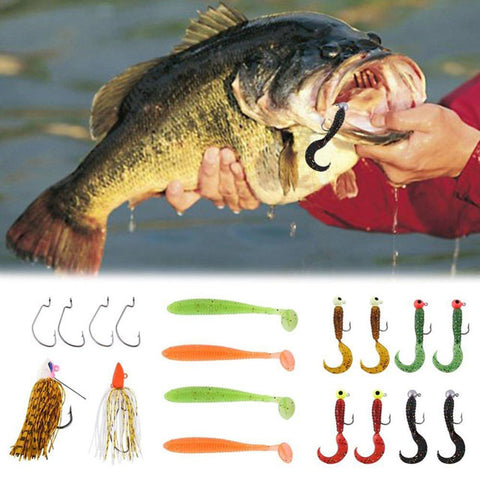 Soft Crappie Fishing Lures