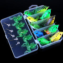 Soft Frog Wobbler Trout Perch Crappie Catfish Fishing Baits