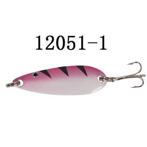 Spinner Bait Metal Spoon Fishing Lure