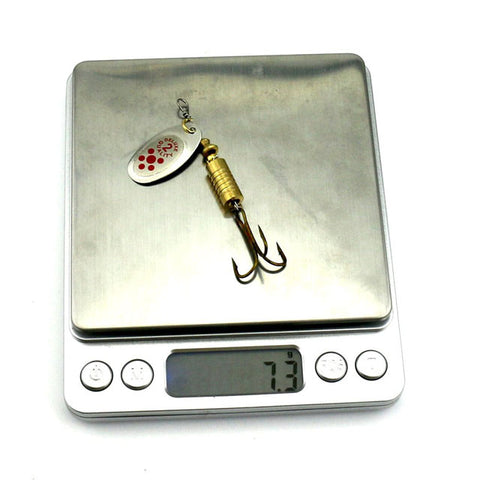 Spoon Lure Metal Spinner Fishing Lure Weight