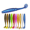 Image of T Tail Soft Grubs Maggot Plastic Fishing Lure