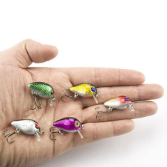 Topwater Wobbler Mini Fly Fishing Lure Baits