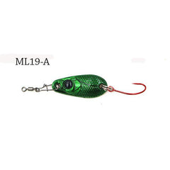 2pcs/Lot  2.1g Mini Trout Spoon Fishing Lures