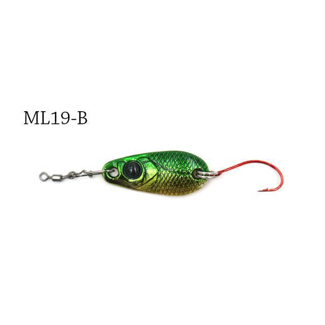 Trout Spoon Fishing Lures