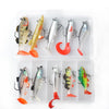 Image of 18g 14g 13g 9g 8g Wobblers Artificial Bait Silicone Fishing Lures Soft Lure Kit Set