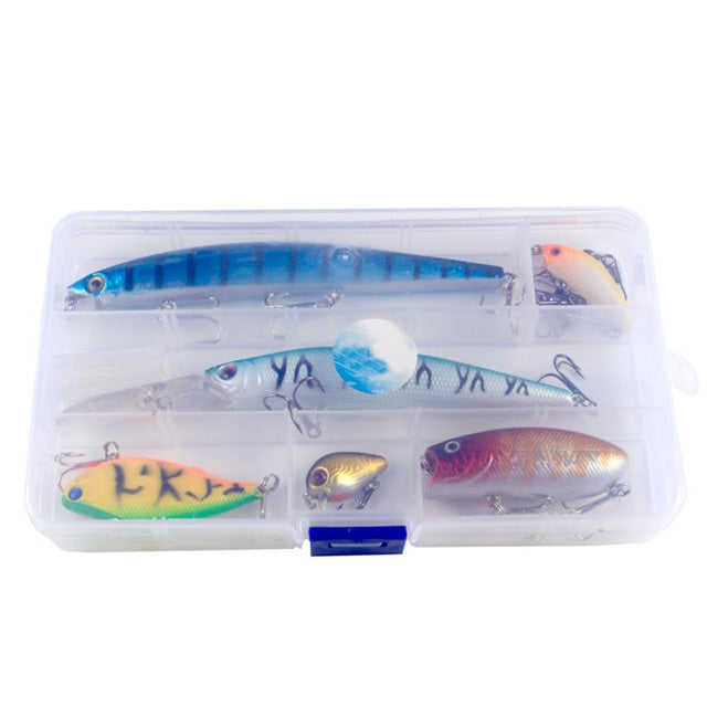 6pcs/Lot High Quality Lifelike Jerkbait Wobblers Fishing Tackle Lure
