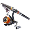 Image of Telescopic Fishing Rod + 11BB Spinning Reel GT 4000 Combo