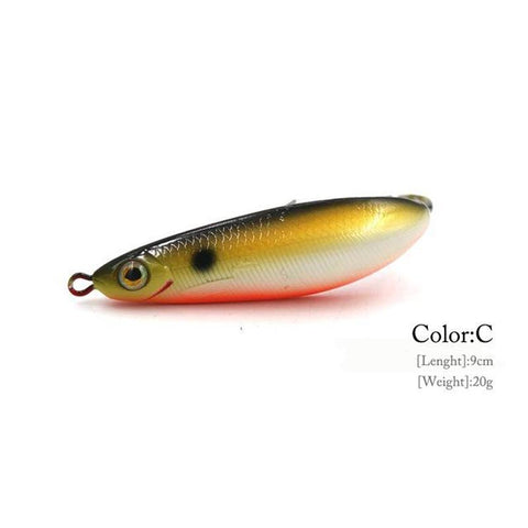 Minnow Spoon Bend Hook Weedless Crankbait - 9cm/20g
