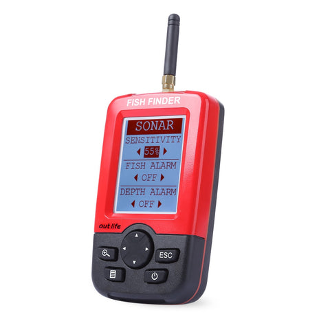Wireless Sonar Sensor Depth Fish Finder