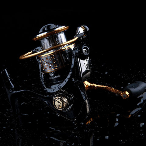 11 + 1 Gear Ratio Spinning Fishing Reel for Casting Lure Tackle Line