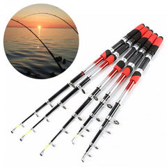 Glass Fiber Telescopic Fishing Rod