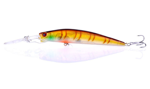 10pcs New 14.7g 14.5cm Minnow 3D Eye Fishing Lures