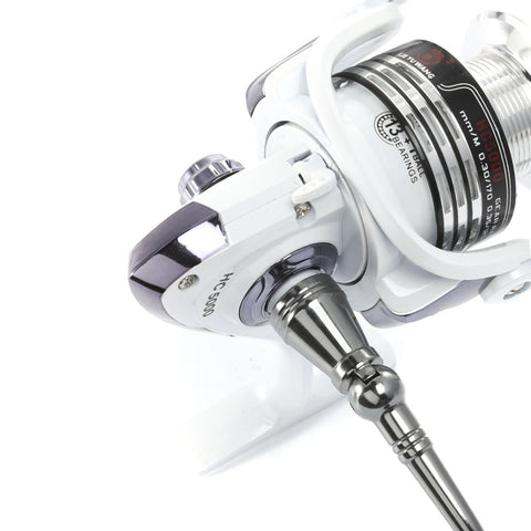 Automatic Folding Spinning Fishing Reel