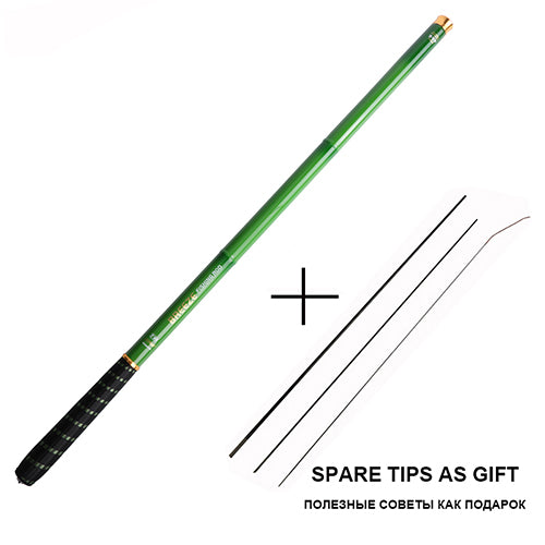 Telescopic Fishing Rod Carbon Fiber Hand Pole for Carp Fishing