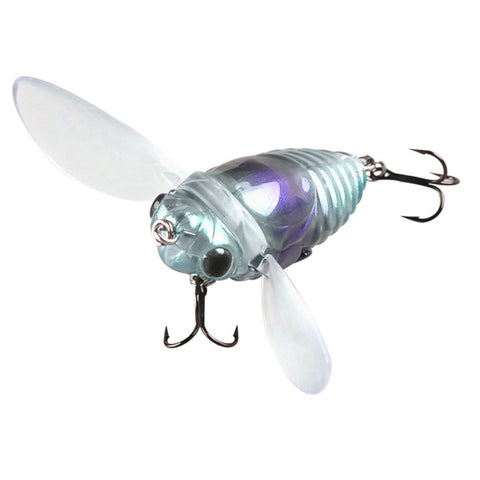 40mm/6.1g Cicada Shape Fishing Lure for Bass And Crappie