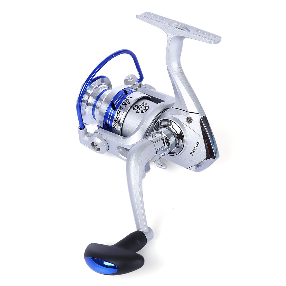AF1000-7000 12BB Spinning Reel Aluminum Spool with Exchangeable Handle