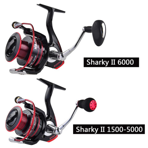 Water Resistant Carbon Drag Spinning Reel