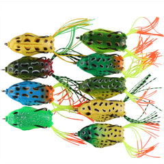 Soft Frog Lure Silicone Bait - 5.5cm 12.5g
