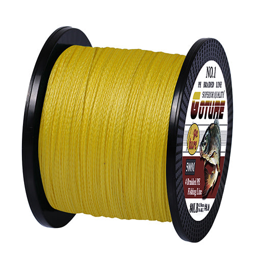 500M 4 Strands Cord Carp Fishing Lines For Saltwater