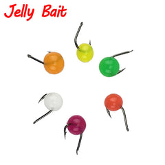 70g 450pcs Beads Bean Egg Jelly Bait
