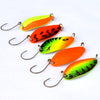 Image of 5pcs 4.5g mini fishing spoon trout lures fluttering spoons Japanese freshwater fishing lures spinner