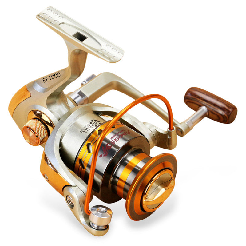 Fishing spinning reel light weight