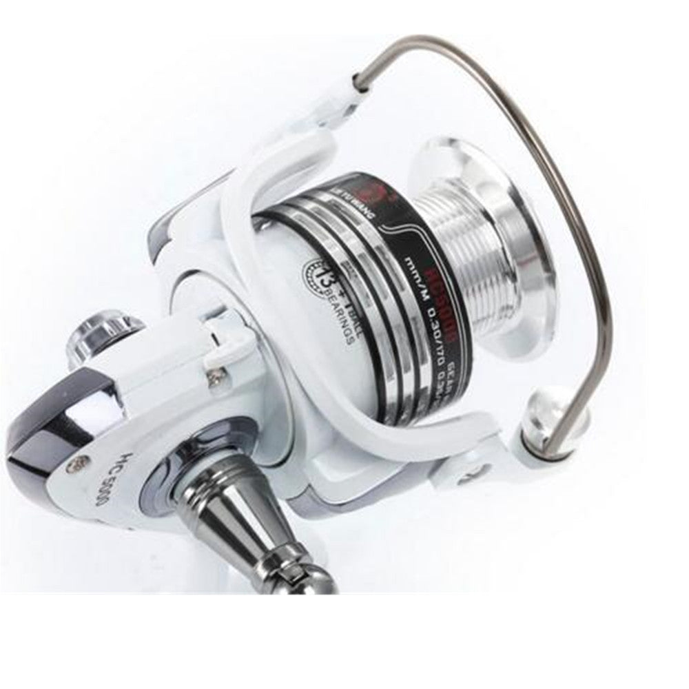 Gear Spinning Fishing Reel with Exchangeable Handle