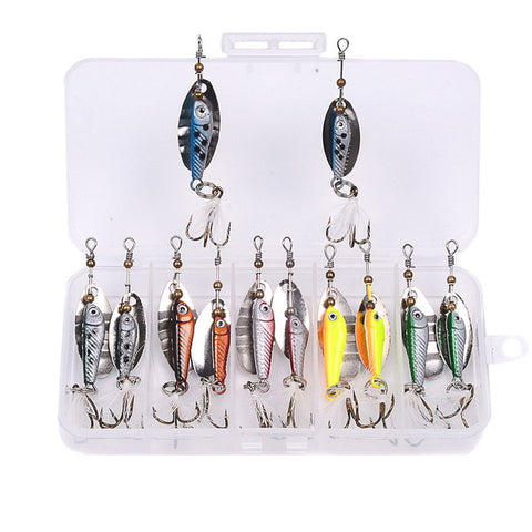 5 Style Artificial Mixed Fishing Lures Bait Kit