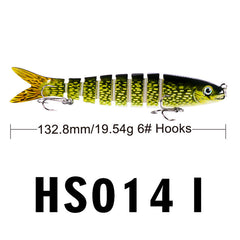 6# Hook Fishing Tackle - 7 Joints