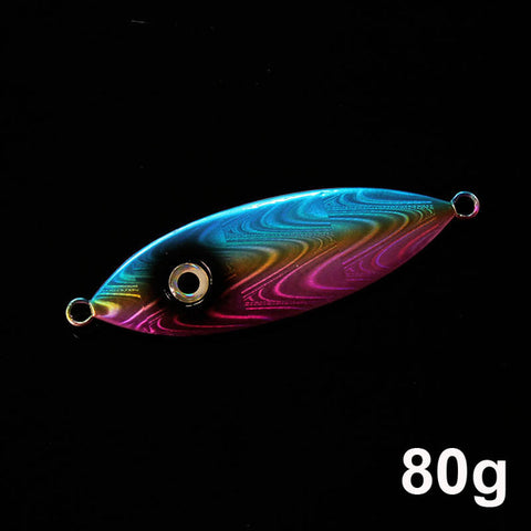 Metal Jig Spoons Deep Sea Saltwater Fishing Lures - 80g 100g 160g 250g