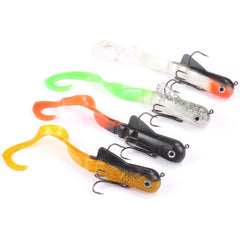 4PCS/lot Pike lure 20cm 45g Fishing Soft Bait