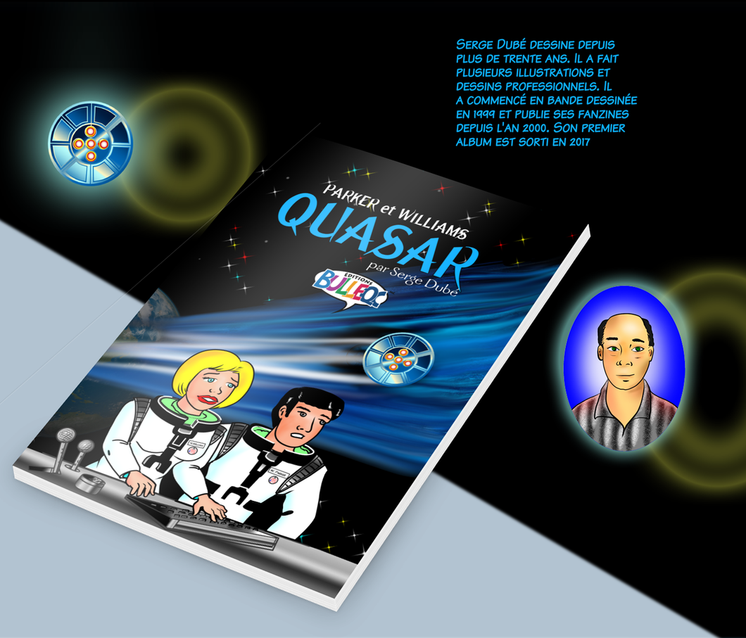 Quasar - par Serge Dubé- Bande dessinée de science-fiction