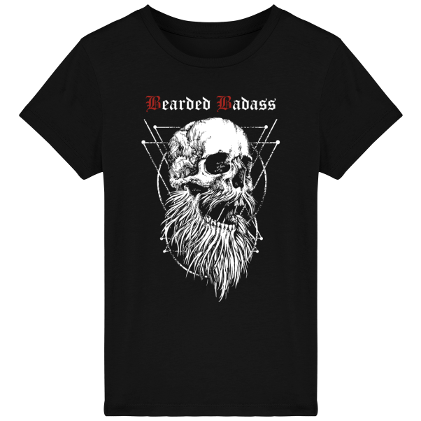 T-shirt Enfant - Bearded Badass - GrahamHold