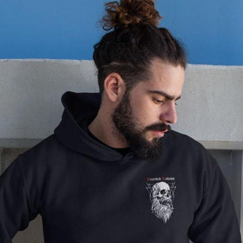 sweat pour homme barbu bearded badass  Grahamhold.com