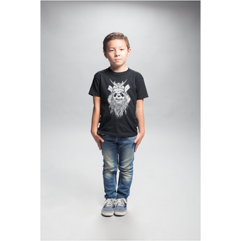 T-shirt Enfant - Panda barbu samouraï - Grahamhold Graham Hold
