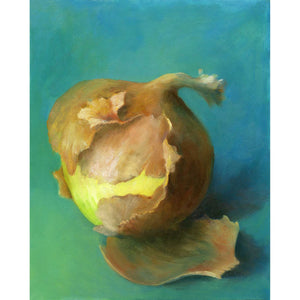 Southwest Onion : 8x10 inches - Galleria Fresco - food still life by Jo Bradney