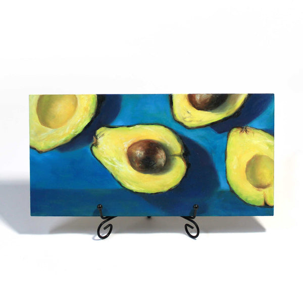 Avocado Two-Step : 6x12 inches - Galleria Fresco