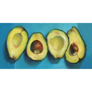 Avocado Groove : 6x11 inches - Galleria Fresco