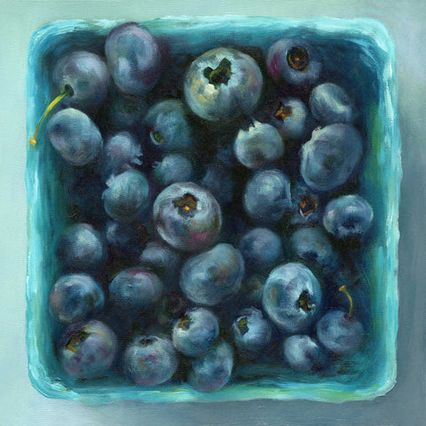 Blueberry Jewel Box : 8x8 inches - Galleria Fresco