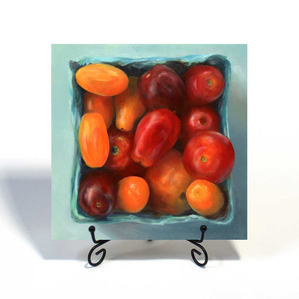 Tomato Jewel Box : 8x8 inches - Galleria Fresco