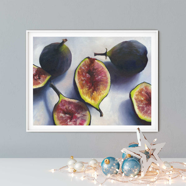 Art Gift for Foodie Connoisseur - Galleria Fresco - food still life by Jo Bradney