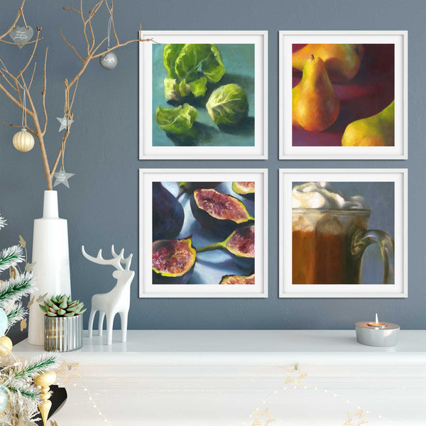 fig.1 - Art Print - Galleria Fresco - food still life by Jo Bradney